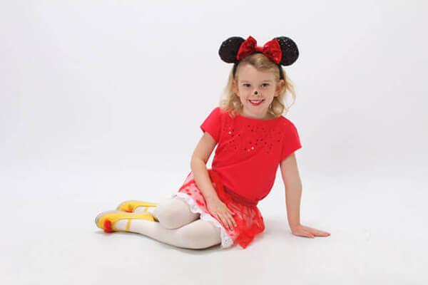Minnie para curtir o Halloween