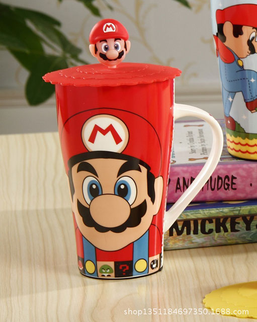 Caneca do Super Mario