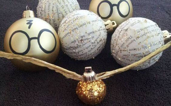 Bolinhas de Natal do Harry Potter