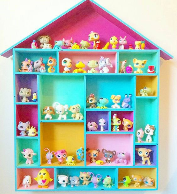 Casinha para Littlest Pet Shops