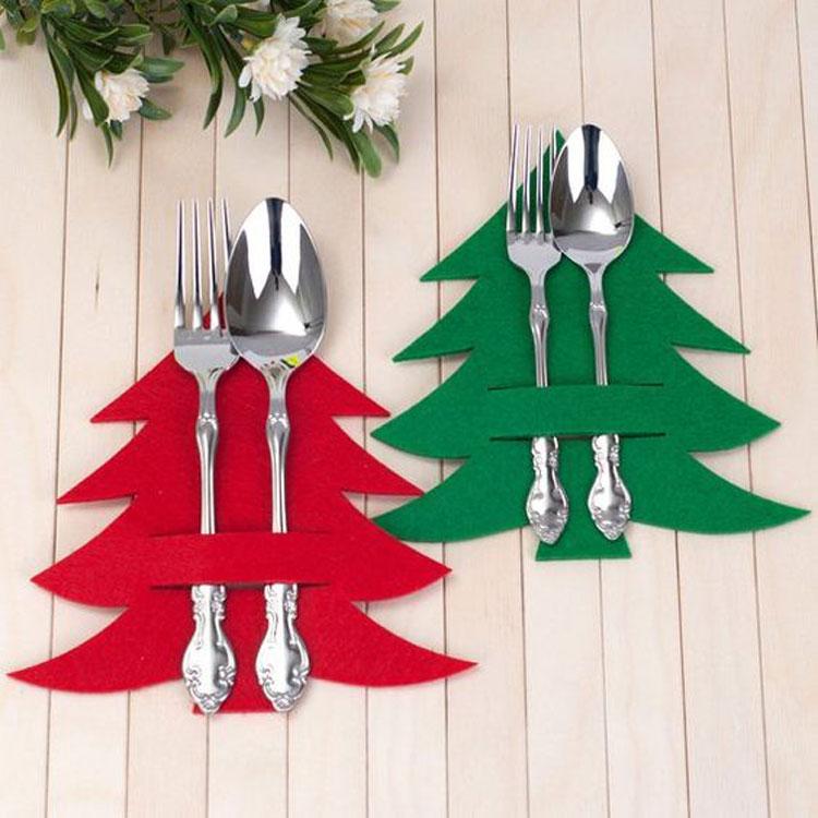 Guia da Decoração de Natal » Árvores de feltro