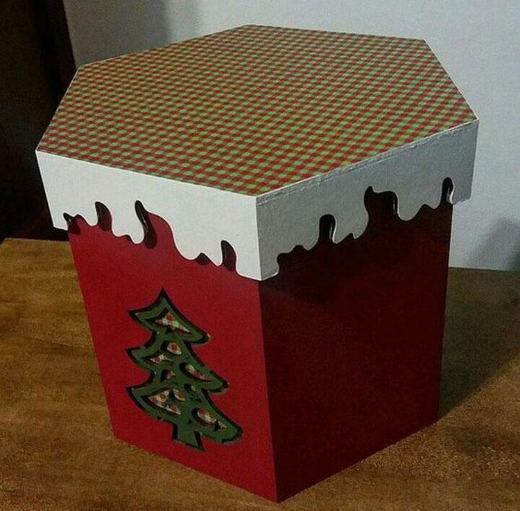 Guia da Decoração de Natal » Porta panetone
