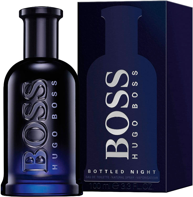 Perfume Boss Bottled Night para namorado
