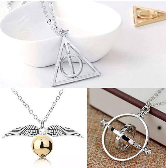 Kit de colar Harry Potter para a namorada super fã