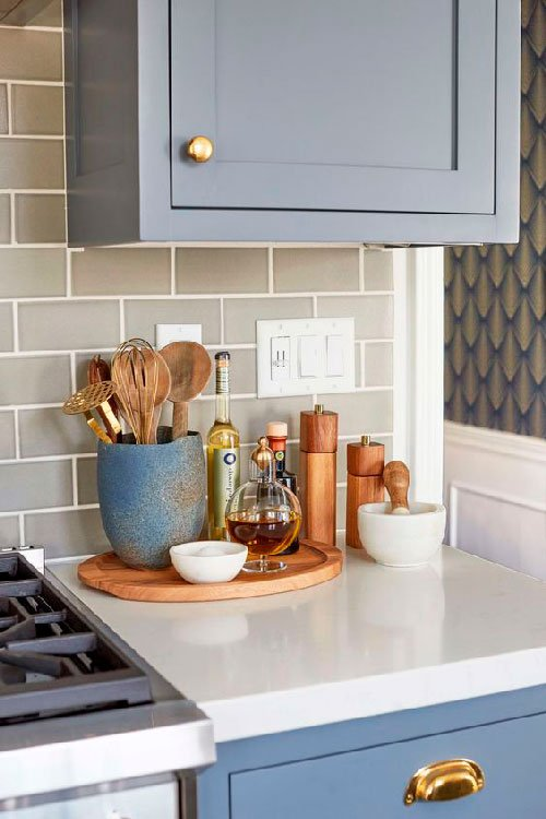 Deixe à mão o que você mais usa na cozinha