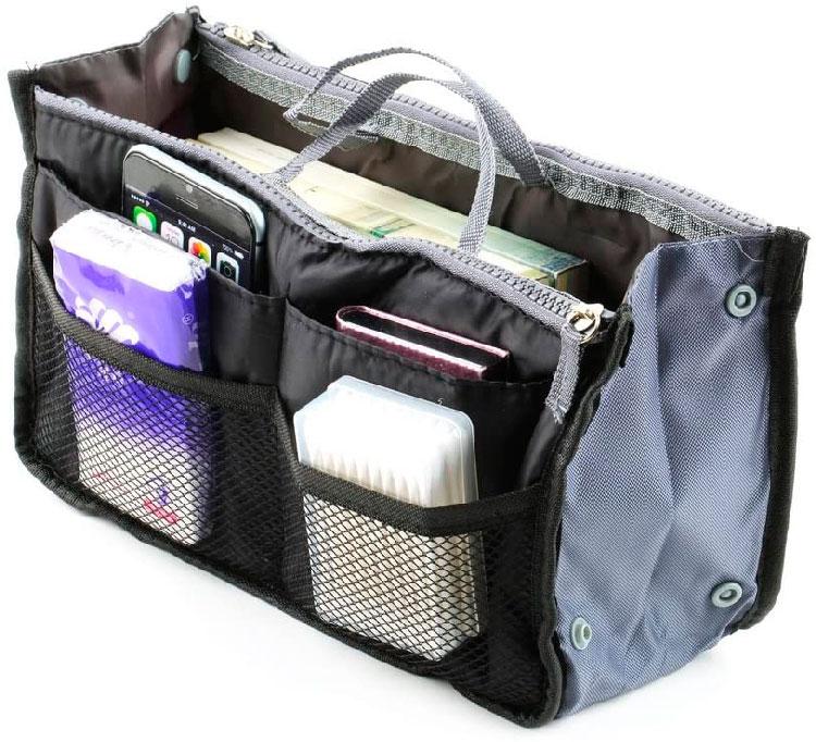 Organizador de bolsa para o Dia das Mães