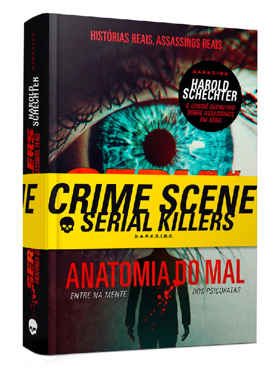Livro Serial Killers - Anatomia do Mal