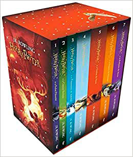 Box de livros do Harry Potter