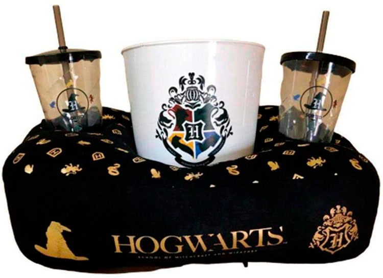 Kit almofada pipoca do Harry Potter