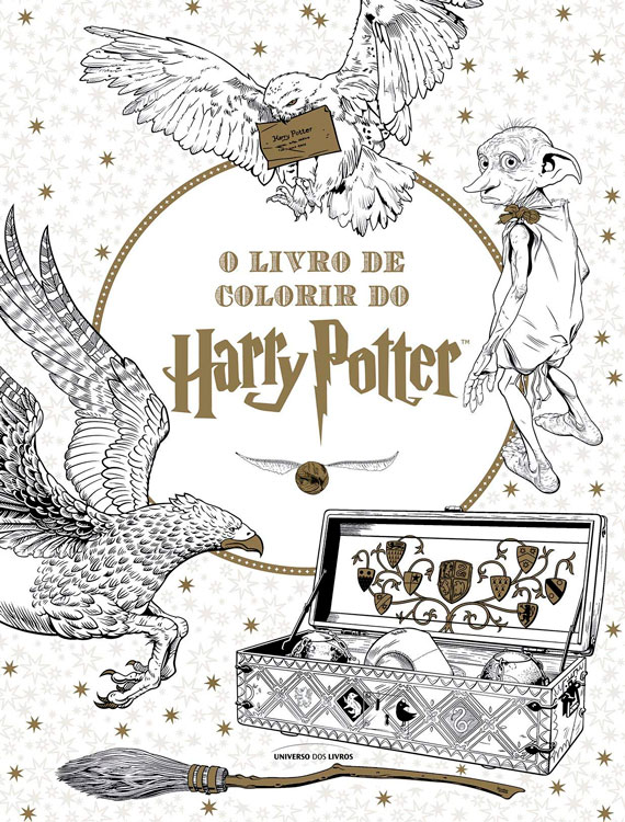 Livro de colorir do Harry Potter