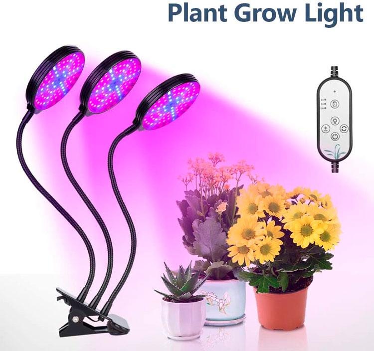 Lâmpada de crescimento para plantas