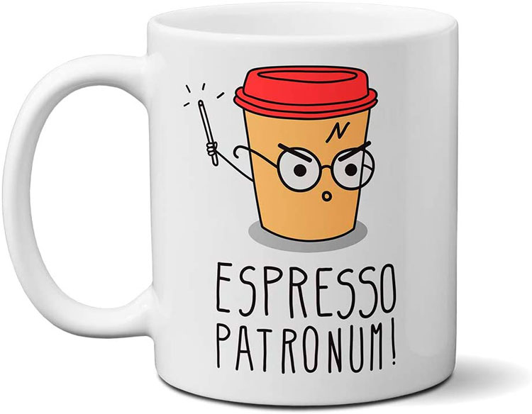 Caneca personalizada para presentear que gosta do Harry Potter