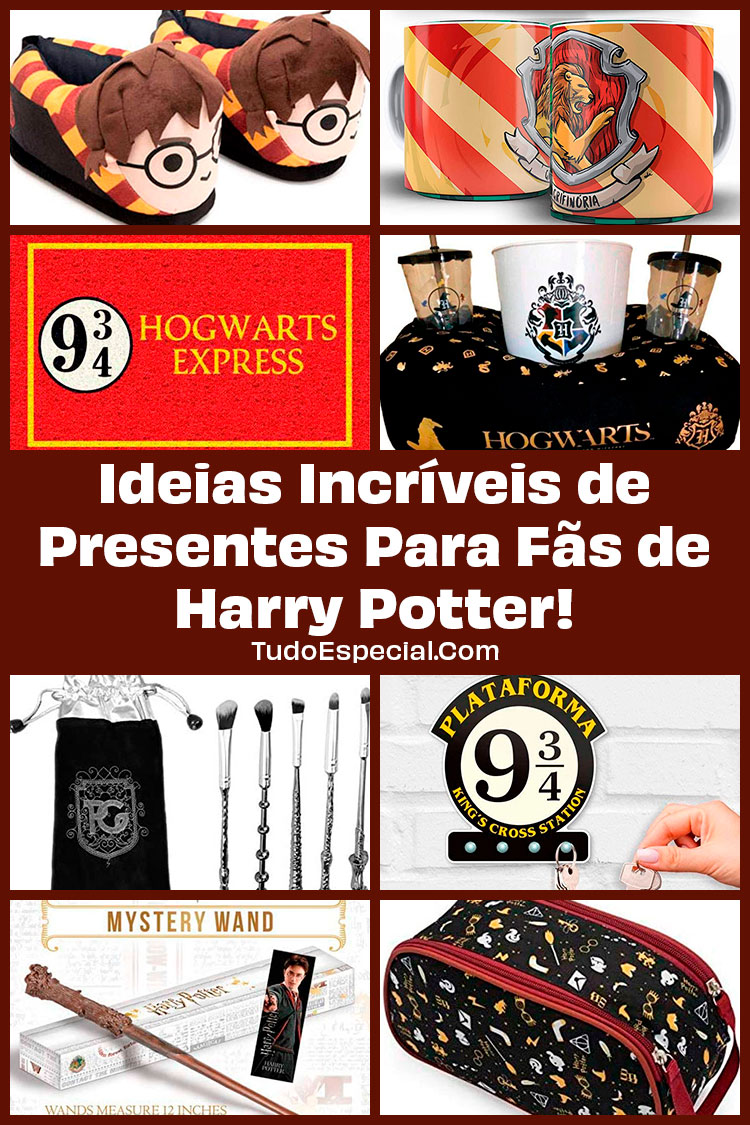 Ideias de Presentes Para Fãs de Harry Potter