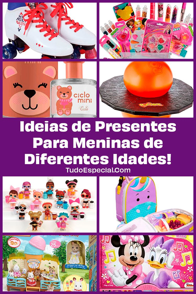 Ideias de Presentes Para Meninas