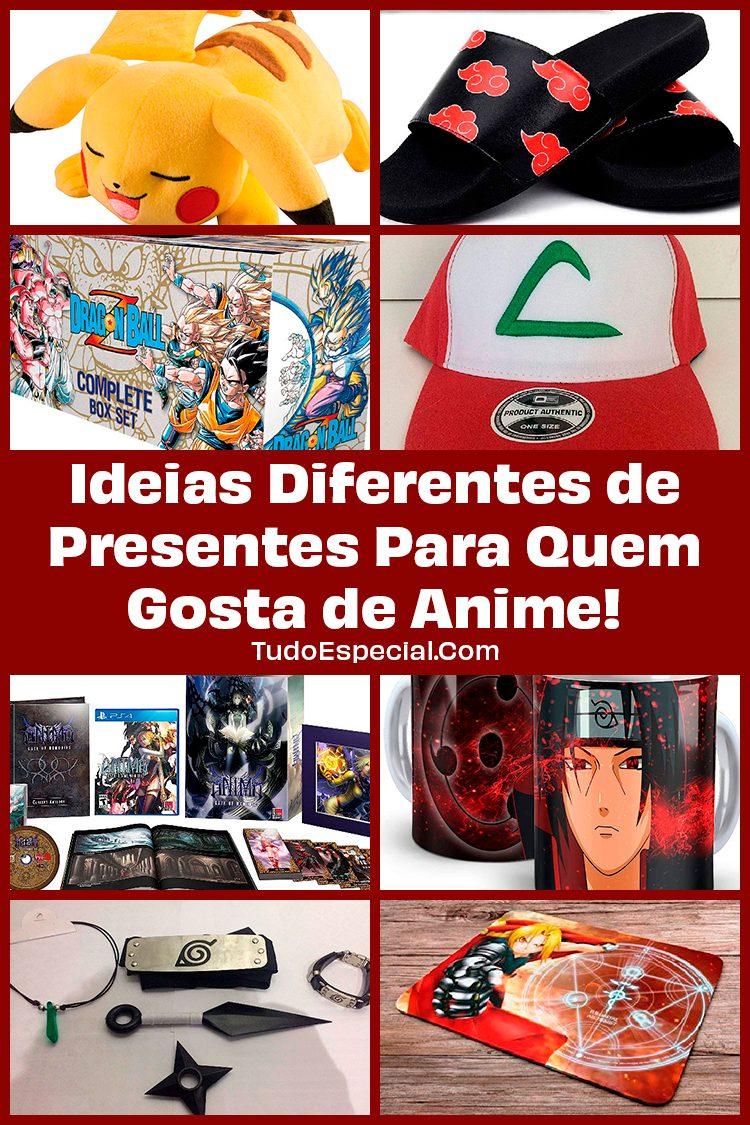 Ideias de Presentes Para Quem Gosta de Anime