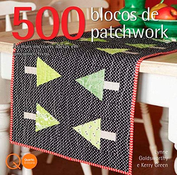Livro 500 blocos de patchwork